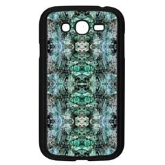 Green Black Gothic Pattern Samsung Galaxy Grand Duos I9082 Case (black) by Costasonlineshop