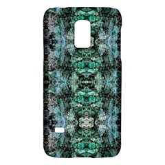 Green Black Gothic Pattern Galaxy S5 Mini by Costasonlineshop