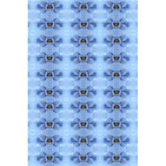 Pastel Blue Flower Pattern 5 5  X 8 5  Notebooks by Costasonlineshop