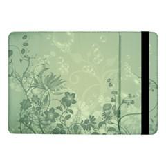 Wonderful Flowers In Soft Green Colors Samsung Galaxy Tab Pro 10 1  Flip Case by FantasyWorld7