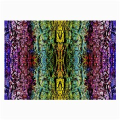 Abstract, Yellow Green, Purple, Tree Trunk Large Glasses Cloth (2 Side) by Costasonlineshop