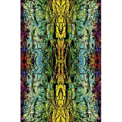 Abstract, Yellow Green, Purple, Tree Trunk 5 5  X 8 5  Notebooks by Costasonlineshop