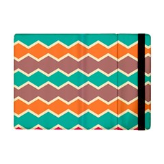 Colorful Chevrons Pattern			apple Ipad Mini 2 Flip Case by LalyLauraFLM