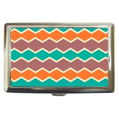 Colorful Chevrons Pattern			cigarette Money Case by LalyLauraFLM