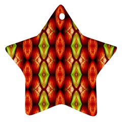 Melons Pattern Abstract Ornament (star)  by Costasonlineshop
