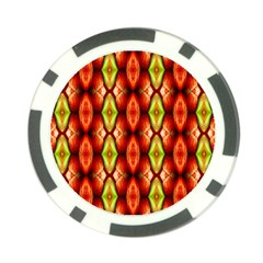 Melons Pattern Abstract Poker Chip Card Guards by Costasonlineshop