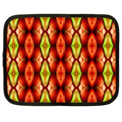Melons Pattern Abstract Netbook Case (large) by Costasonlineshop