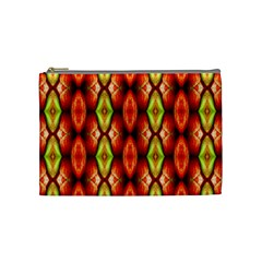 Melons Pattern Abstract Cosmetic Bag (Medium)  by Costasonlineshop