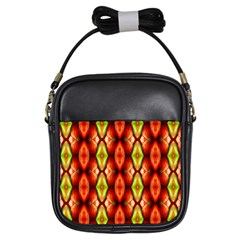 Melons Pattern Abstract Girls Sling Bags by Costasonlineshop