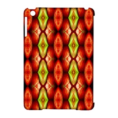 Melons Pattern Abstract Apple iPad Mini Hardshell Case (Compatible with Smart Cover) by Costasonlineshop