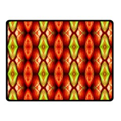 Melons Pattern Abstract Double Sided Fleece Blanket (small)  by Costasonlineshop