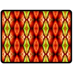 Melons Pattern Abstract Double Sided Fleece Blanket (Large)  by Costasonlineshop