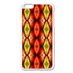 Melons Pattern Abstract Apple Iphone 6 Plus/6s Plus Enamel White Case by Costasonlineshop