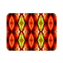 Melons Pattern Abstract Double Sided Flano Blanket (mini)  by Costasonlineshop