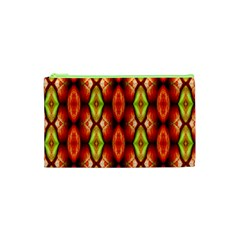 Melons Pattern Abstract Cosmetic Bag (xs) by Costasonlineshop