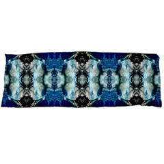 Royal Blue Abstract Pattern Body Pillow Cases Dakimakura (two Sides)  by Costasonlineshop