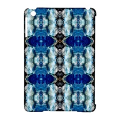 Royal Blue Abstract Pattern Apple Ipad Mini Hardshell Case (compatible With Smart Cover) by Costasonlineshop