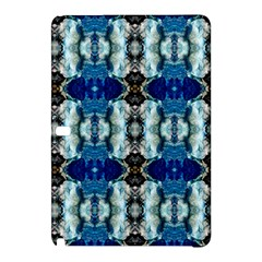 Royal Blue Abstract Pattern Samsung Galaxy Tab Pro 12 2 Hardshell Case by Costasonlineshop