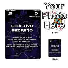 Batman Strategy Cards By Juan Diego   Multi Purpose Cards (rectangle)   N1oz9y9wrjw1   Www Artscow Com Front 18