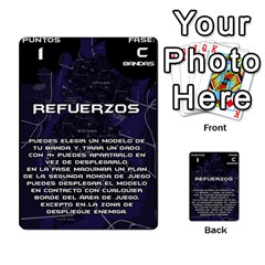 Batman Strategy Cards By Juan Diego   Multi Purpose Cards (rectangle)   N1oz9y9wrjw1   Www Artscow Com Front 3
