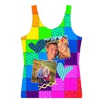 Rainbow Stitch - Women s Sport Tank Top