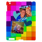Rainbow Stitch - Apple iPad 3/4 Hardshell Case