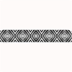 Black White Diamond Pattern Small Bar Mats by Costasonlineshop