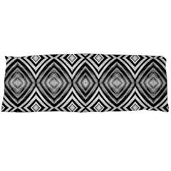 Black White Diamond Pattern Body Pillow Cases (dakimakura)  by Costasonlineshop