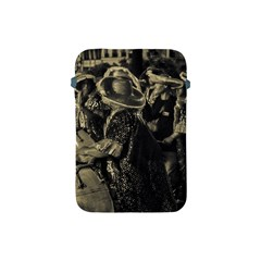 Group Of Candombe Drummers At Carnival Parade Of Uruguay Apple Ipad Mini Protective Soft Cases by dflcprints