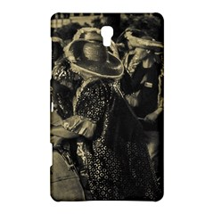 Group Of Candombe Drummers At Carnival Parade Of Uruguay Samsung Galaxy Tab S (8 4 ) Hardshell Case  by dflcprints