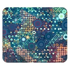 Blue Bubbles Double Sided Flano Blanket (Small)  by KirstenStar