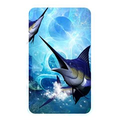 Awersome Marlin In A Fantasy Underwater World Memory Card Reader by FantasyWorld7