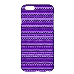Purple Tribal Pattern Apple Iphone 6 Plus/6s Plus Hardshell Case by KirstenStar