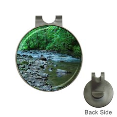 Rocky Stream Hat Clips With Golf Markers by trendistuff