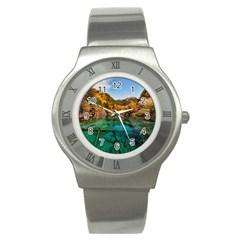 Jiuzhaigou Valley 1 Stainless Steel Watches by trendistuff