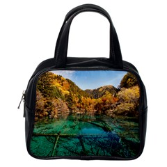 Jiuzhaigou Valley 1 Classic Handbags (one Side) by trendistuff