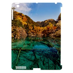 Jiuzhaigou Valley 1 Apple Ipad 3/4 Hardshell Case (compatible With Smart Cover) by trendistuff