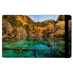 Jiuzhaigou Valley 1 Apple Ipad 3/4 Flip Case by trendistuff