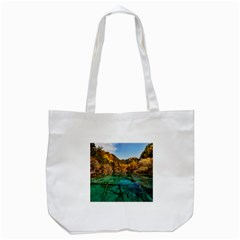 Jiuzhaigou Valley 1 Tote Bag (white)  by trendistuff