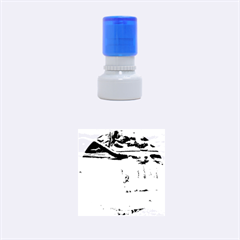 FROZEN CREEK Rubber Round Stamps (Small) by trendistuff
