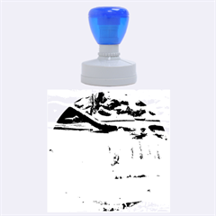 FROZEN CREEK Rubber Round Stamps (Large) by trendistuff