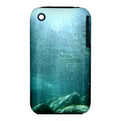 Crater Lake National Park Apple Iphone 3g/3gs Hardshell Case (pc+silicone) by trendistuff