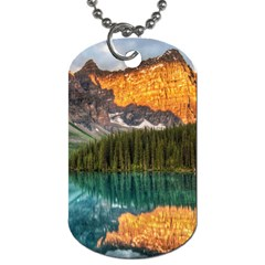 Banff National Park 4 Dog Tag (one Side) by trendistuff