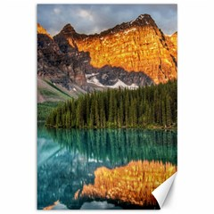 Banff National Park 4 Canvas 12  X 18   by trendistuff