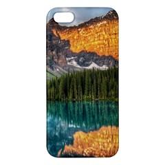 Banff National Park 4 Apple Iphone 5 Premium Hardshell Case by trendistuff