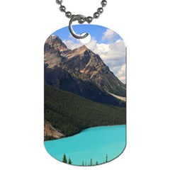 Banff National Park 3 Dog Tag (two Sides) by trendistuff