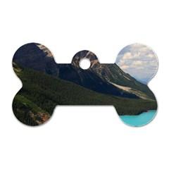 Banff National Park 3 Dog Tag Bone (one Side) by trendistuff
