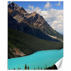 Banff National Park 3 Canvas 11  X 14   by trendistuff