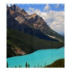 Banff National Park 3 Shower Curtain 66  X 72  (large)  by trendistuff