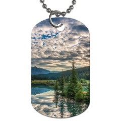 Banff National Park 2 Dog Tag (one Side) by trendistuff
